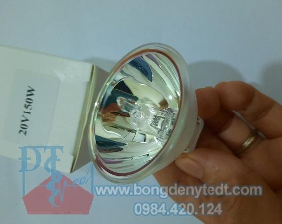Bóng đèn halogen 20V 150W dùng cho kính hiển vi, quang học.