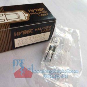 Bóng đèn sinh hóa HYBEC 12V 20W G4 made in Japan